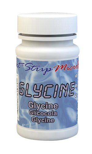 Industrial Test Systems eXact 484014 Micro Glycine Strips for Water Quality Testing, 50 Tests (Bottle of 50)