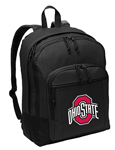 Broad Bay Ohio State University Backpack Classic Style OSU Buckeyes Backpack Laptop Sleeve