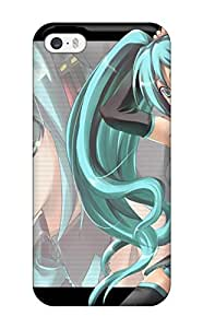 For Iphone 5/5s Premium Tpu Case Cover Vocaloid Anime Protective Case