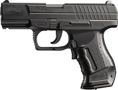 Walther P99DAO Pistola de Airsoft, eléctrica, con máx. 0,5Julios, Negro, 180mm