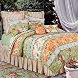 C and F Enterprises Garden Dream Quilt, Queen Size