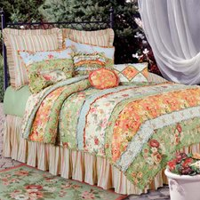 C and F Enterprises Garden Dream Quilt, Queen Size