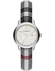 Womens Swiss Stone Check Fabric Strap Watch 32mm BU10103