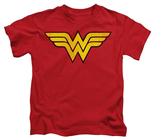 Kids Logo T-shirt (Juvenile: Wonder Woman - Wonder Woman Logo Dist Kids T-Shirt Size 4)