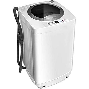 Amazon.com: Barton Full-Automatic Washing Machine Compact ...