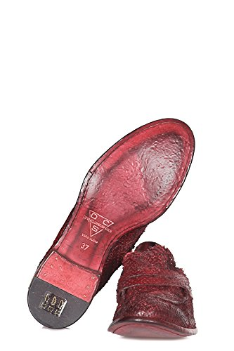 Open Closed Basse Chaussures - 310389 - Rouge Rouge 8SRJYnp