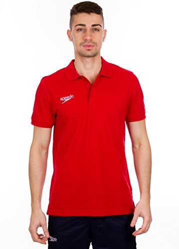 Speedo – Core Team Polo Unisex – Red – L
