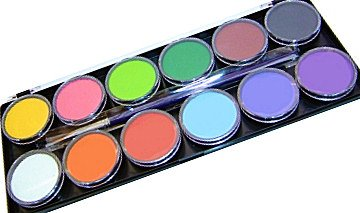 Tag Face Paint Palette 12 X 10g Face and Body Paint