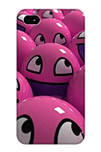 Freshmilk BeiKqn-374-PPBkA Protective Case For Iphone 4/4s(Abstract 3D) - Nice Gift For Lovers