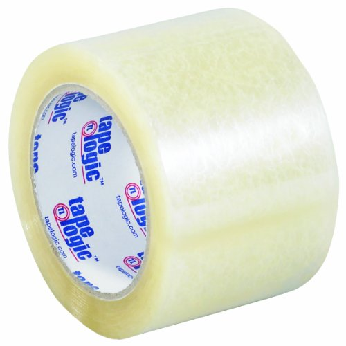 Tape Logic 220 Acrylic Adhesive Tape, 2.2 mil Thick, 110 yds Length x 3