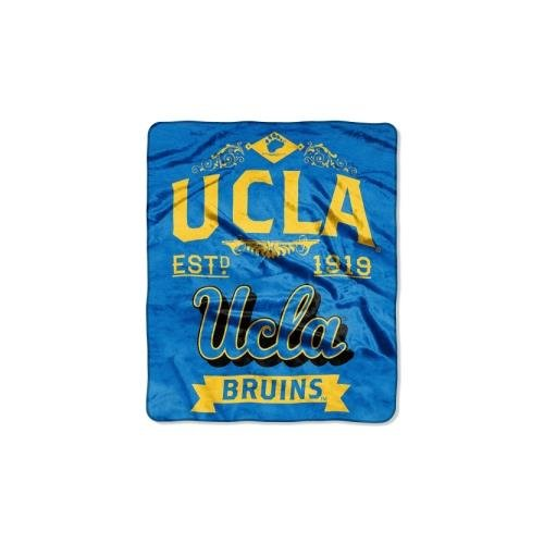 NCAA UCLA Bruins College Label Raschel Throw, 50 x - Outlet In Malls California