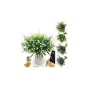 1 Bouquet Fake Little Flowers Heads DIY Gypsophila Simulation Artificial Fake Flower Baby's Breath Wedding Home Decoration 1