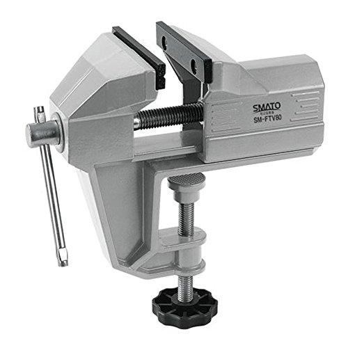HW Aluminum Table Bench Vise Swivel Lock Desk Clamp Craft Hobby Craft Repair Tool (65 mm / 2.6 inch)