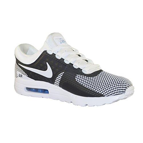Nike Air Max Zero Essential, Scarpe da Ginnastica Uomo white-white-obsidian-soar (876070-103)
