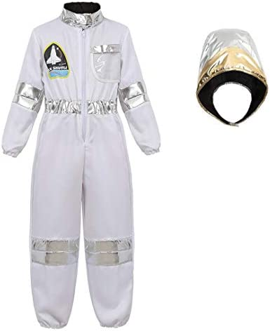Astronaut Costume Jumpsuit Childrens Spaceman product image