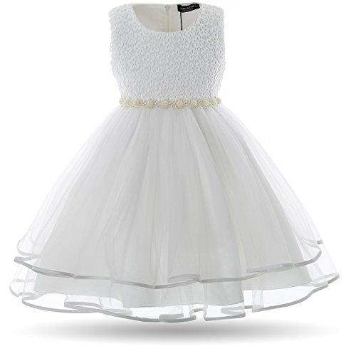 Cielarko Vestido Elegante de Gala Boda Fiesta para Niñas: Amazon.es: Ropa y accesorios