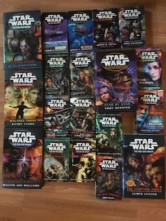 Star Wars NEW Jedi Order Complete Set 19 Books (New Jedi Order, 1-19)