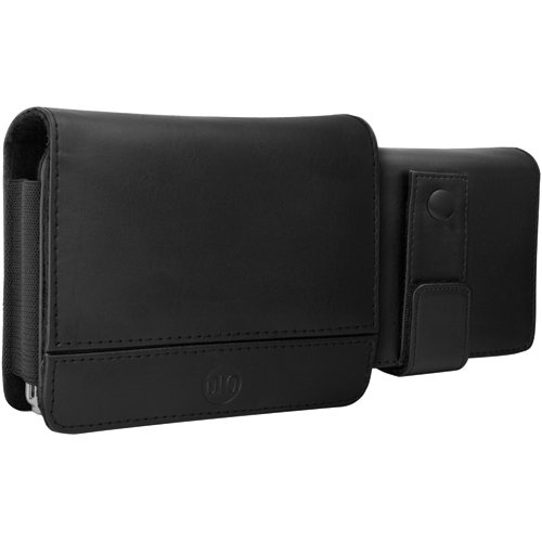 - DLO DLG24201/17 4.3-Inch TravelFolio GPS Leather Case (Black)