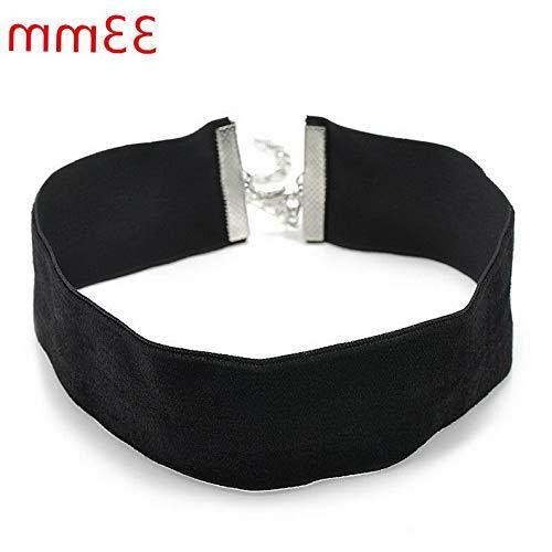 Hebel 1pc Black Velvet Charm Pendant Choker Necklace Gothic Retro Jewelry | Model NCKLCS - 32244 |