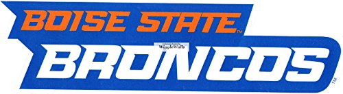 State Logo Wall - 6 Inch BSU Broncos Boise State University Logo Removable Wall Decal Sticker Art NCAA Home Room Decor 6 by 1 1/2 Inches