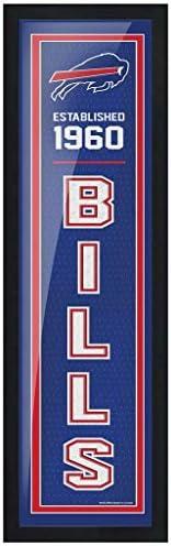 """Buffalo Bills 6"""" x 22"""" Established F"""