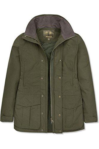 Highland Moss Donna nbsp;– Musto Dark Lite Womens tex Jacket Ultra Taglia nbsp;16 Gore 51q1xH