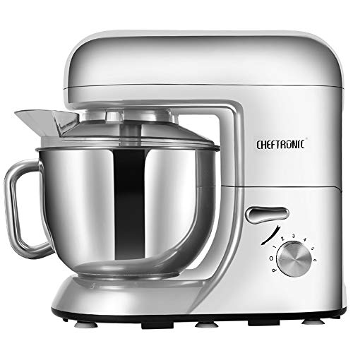 CHEFTRONIC SM986-Silver Standing Mixer, One Size, Silver