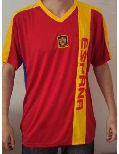 Em 2012 Fútbol Camiseta España M: Amazon.es: Deportes y aire libre