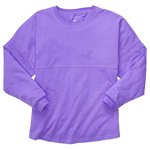 HTC Set: Boxercraft Pom Pom Jersey Pullover Shirt & Care Guide, Lilac-M