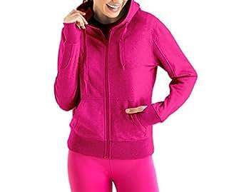 Lupo Women's Full Zip Hoodie, Small Pink Fruit