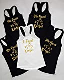 She found a Keeper, Mrs Bachelorette Party Tank tops, Bride Crew T-Shirts, bride Tribe Tank Tops, bachelorette party Harry potter