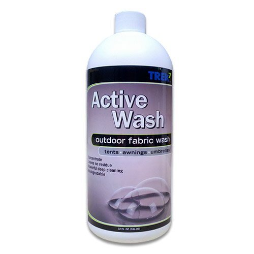 Trek7 Active Wash Fabric Cleaner for Outdoor Fabrics, 32 Oz