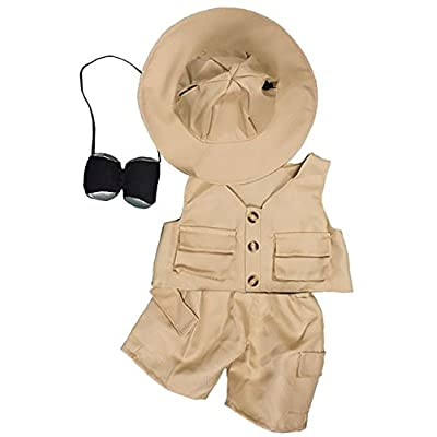 Safari 8 (20cm) Teddy Bear Clothes Outfit by Teddy Mountain: Toys & Games