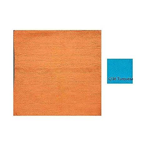 Duffi Home Funda cojín, Turquesa, 45 x 45 cm: Amazon.es: Hogar