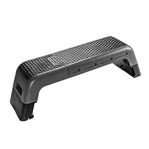 ROBDAE Fitness Aerobic Step Multifunctional Aerobic Step Platform with 2 Riser Adjustable Platform Non-Slip Surface…