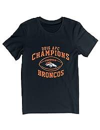 Men's AFC West Champion Denver Broncos T-shirts Black