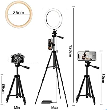 Leoneva Practical USB Interface Brightness Adjustable Fill Light Beauty Lamp On-Camera Video Lights