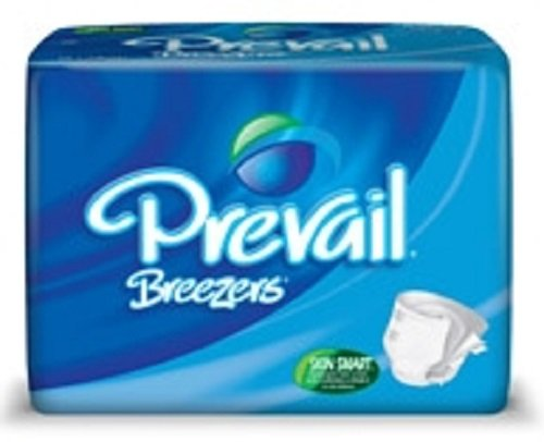 Prevail Breezers Adult Brief, XL, Extra Large, Heavy Absorbency, PVB-014 - Case of 60