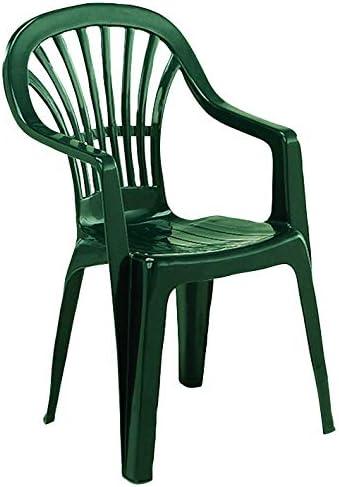 Sedia Progarden in resina Stella verde PROGARDEN