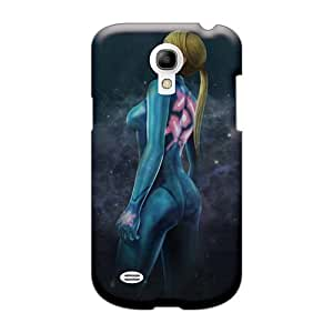 Shock Absorbent Hard Phone Cover For Samsung Galaxy S4 Mini (LbA23571VpZO) Allow Personal Design High Resolution Metroid Other M Pictures