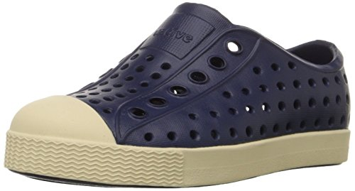 native Jefferson Slip-On Sneaker,Regatta Blue,6 M US Toddler