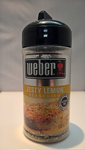 Weber Grill Zesty Lemon Seasoning, 4.25 oz, 2 pk