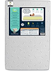 Serta Perfect Rest 4-inch Premium Recycled Fiber Core Mini Crib Mattress, Waterproof, Hypoallergenic, GREENGUARD Gold Certified (Natural/Non-toxic)