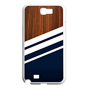 Custom Colorful Case for Samsung Galaxy Note 2 N7100, Wooden Navy Cover Case - HL-R690250