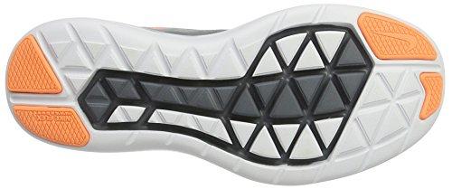Nike Women's Nike Free Rn Sense Running Shoe, Zapatillas Deportivas para Interior para Mujer Varios colores (Gris / Naranja)