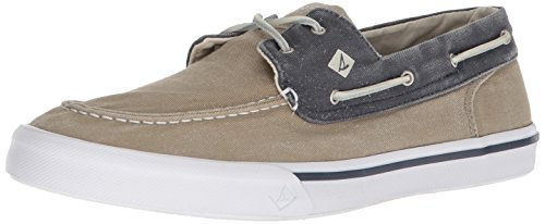get authentic cheap online Sperry Top-Sider Men's Bahama Ii Boat Washed Sneaker Taupe/Navy 2014 new cheap online 100% guaranteed cheap price best sale cheap price RIG0kqB