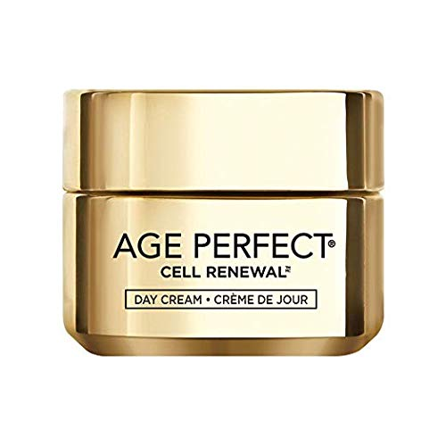 Loreal Paris Age Perfect Cell Renewal Skin Renewing Day Cream Moisturizer Spf 15 Mature, Dull Skin 1.7 Ounce