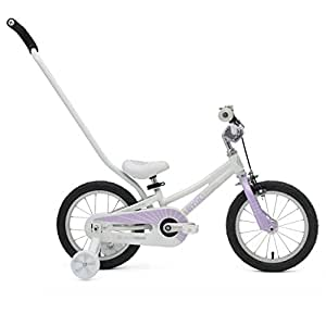 ByK E-250 Kid's Bike, 14 Inch Wheels, 6.5 Inch Frame, Girls' Bike, Lilac