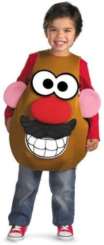Deluxe Mr. Potato Head Toddler Costume - Toddler Medium -