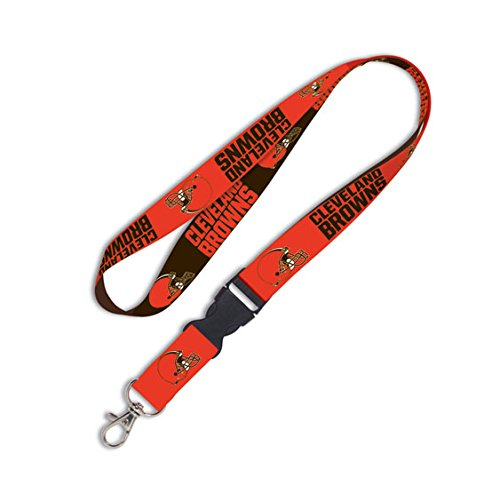 - NFL Cleveland Browns Lanyard with Detachable Buckle, 1-Inch